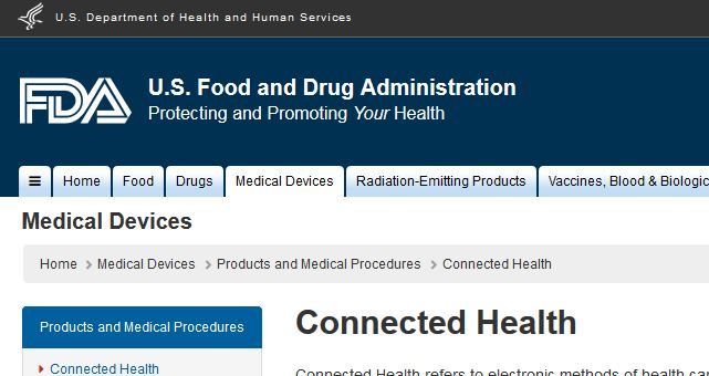 FDA regulates mobile medical apps as connected health