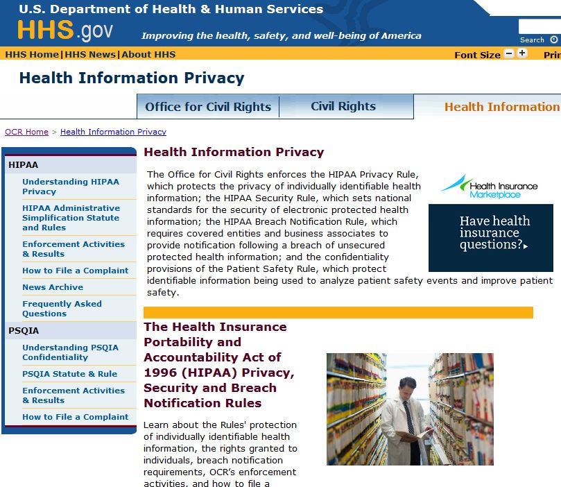 Does HIPAA compliance scale for a physician practice?
