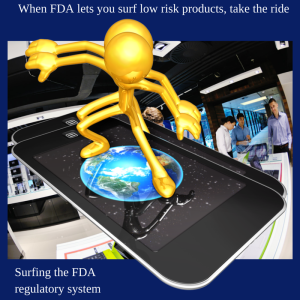 Surfing the FDA regulatory system