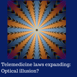 Telemedicine laws expanding_ Optical
