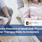 Corporate Practice of Medicine, Psychology, Physical Therapy Risks to Investors