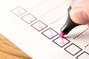 Checklist, Keeping Score Of Obligations Or Completed Tasks In Pr