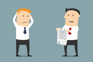 Termination of business contract or partnership